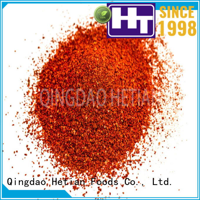 Hetian healthy pepper flakes factory price for hotel