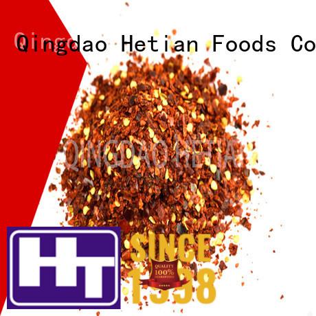 Hetian safe crushed chili pepper supplier for restaurant