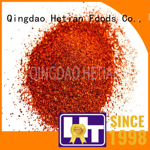 healthy crushed chili pepper factory price for hotel