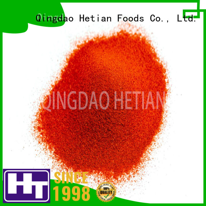 Hetian secure paprika powder from China for dining