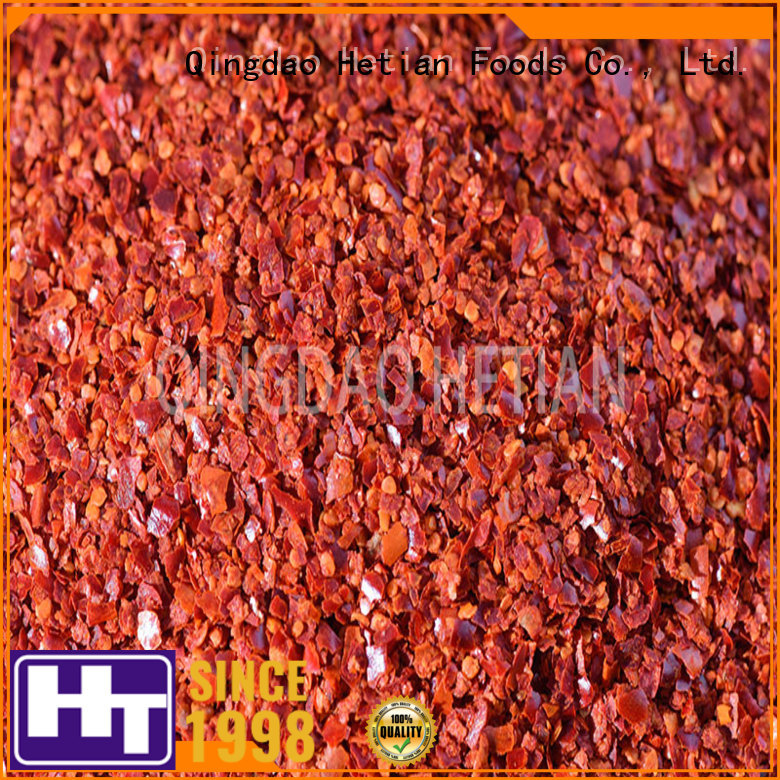 Hetian healthy chili pepper powder factory price for cafe shop