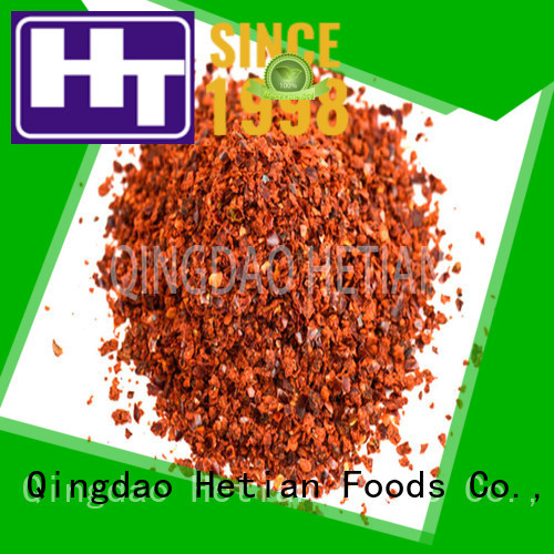 Hetian dried crushed red pepper wholesale for hotel