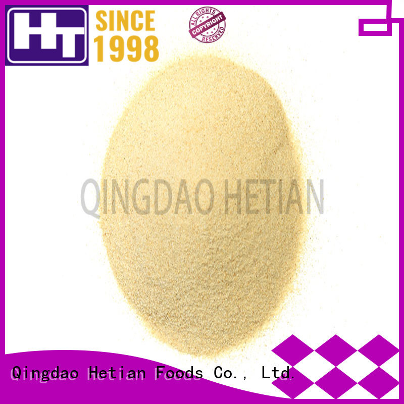 Hetian diced dried garlic flakes manufacturer for restaurant
