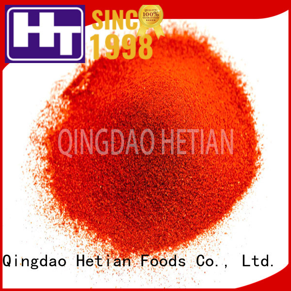 Hetian secure paprika powder on sale for wedding