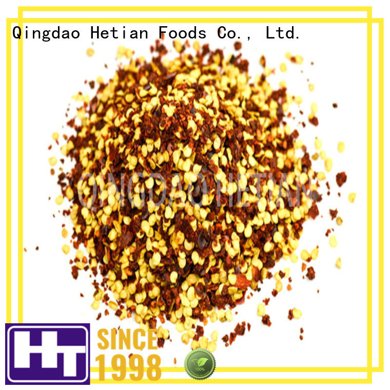 Hetian dried chilli flakes directly sale for hotel