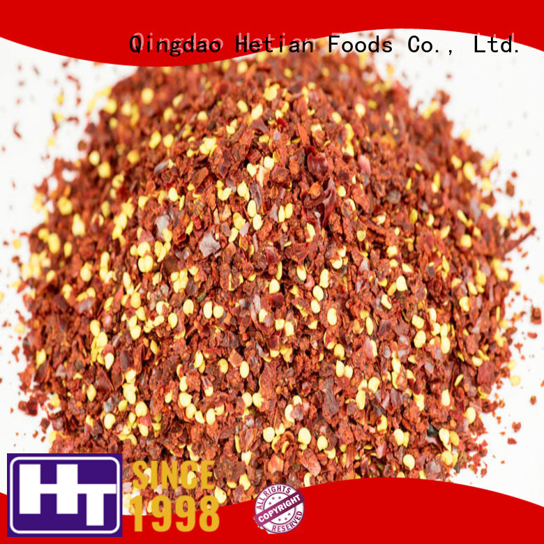 Hetian crushed chilli directly sale for hotel