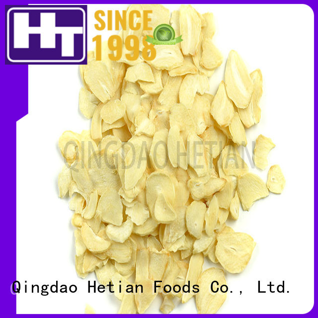 Hetian natural garlic flakes online for hotel