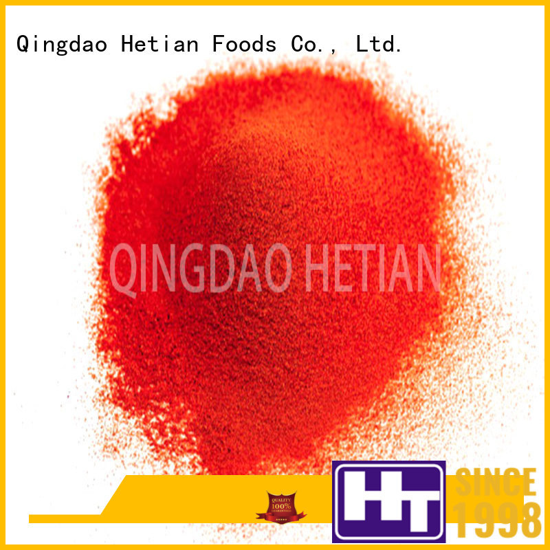 Hetian healthy chili pepper flakes directly sale for restaurant
