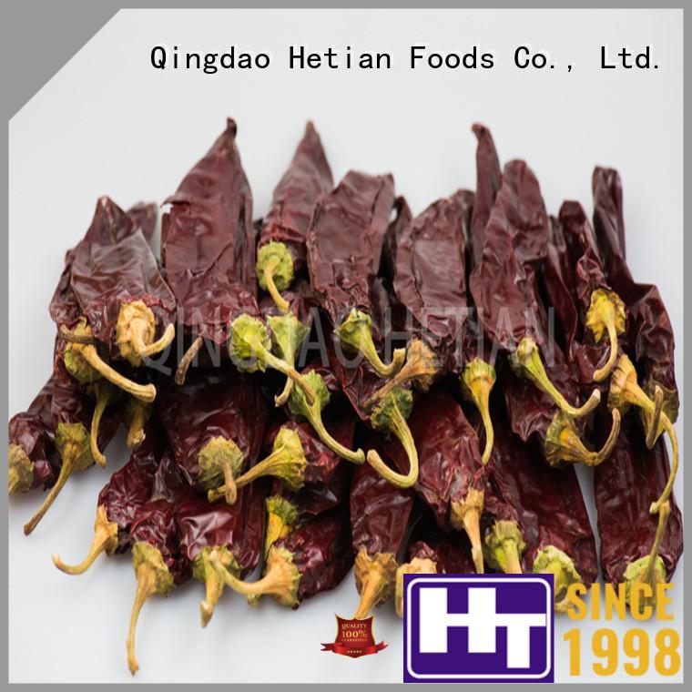 Hetian crushed paprika manufacturer for food
