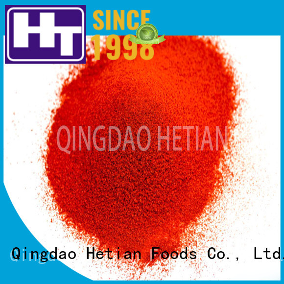 Hetian crushed paprika promotion for party