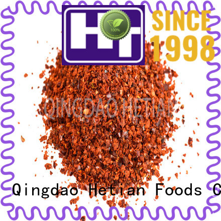Hetian chili pepper powder supplier for cafe shop