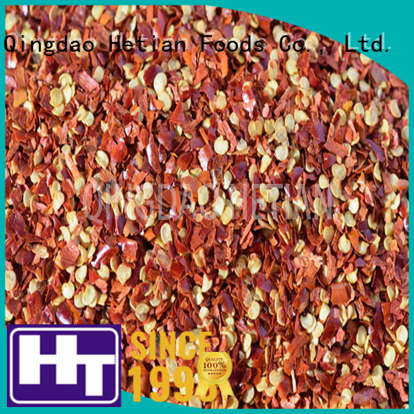 Hetian dried chilli flakes factory price for restaurant