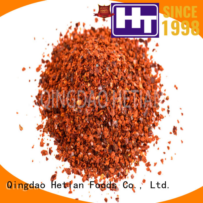 healthy crushed chili pepper wholesale for cafe shop