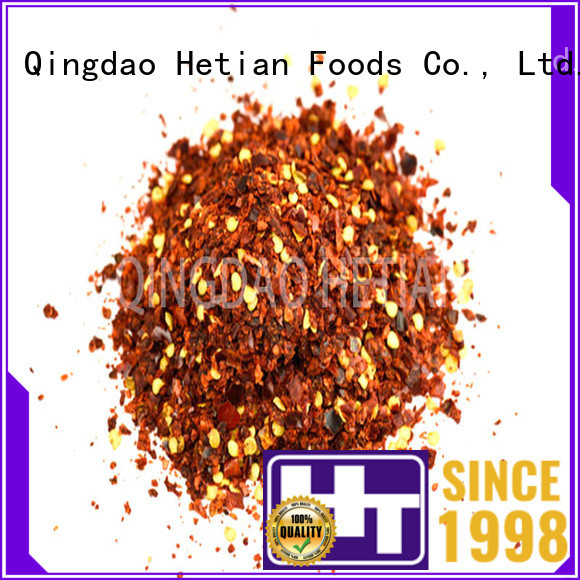 natural dried chilli flakes supplier for cafe shop