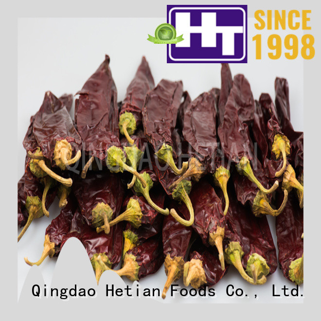 Hetian high quality dried paprika promotion for party