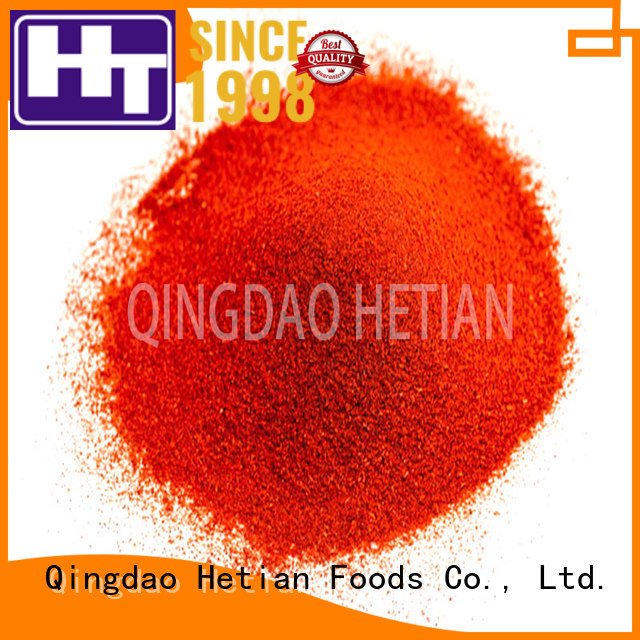 high quality dried paprika manufacturer for food