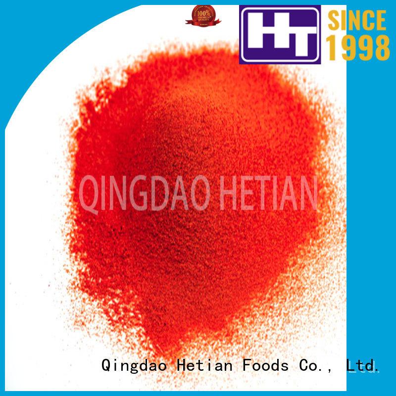 Hetian 24mm chili powder recipe supplier for restaurant