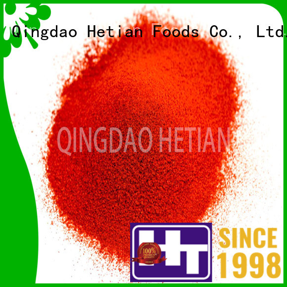 organic paprika spices from China for dining