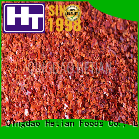 Hetian safe crushed peppers wholesale for cafe shop