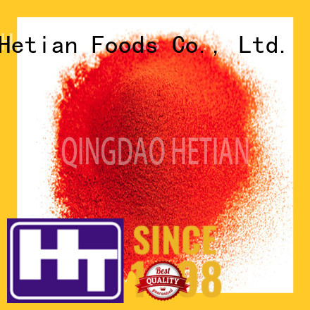 Hetian dried chilli flakes directly sale for cafe shop