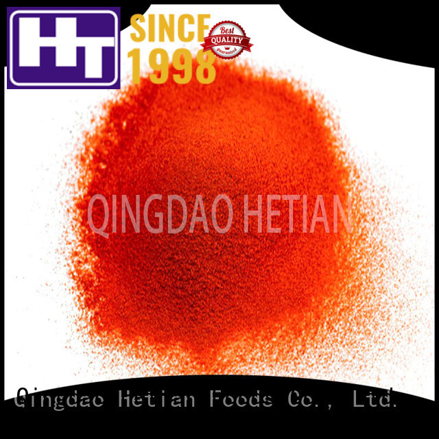 Hetian dried chilli flakes supplier for hotel