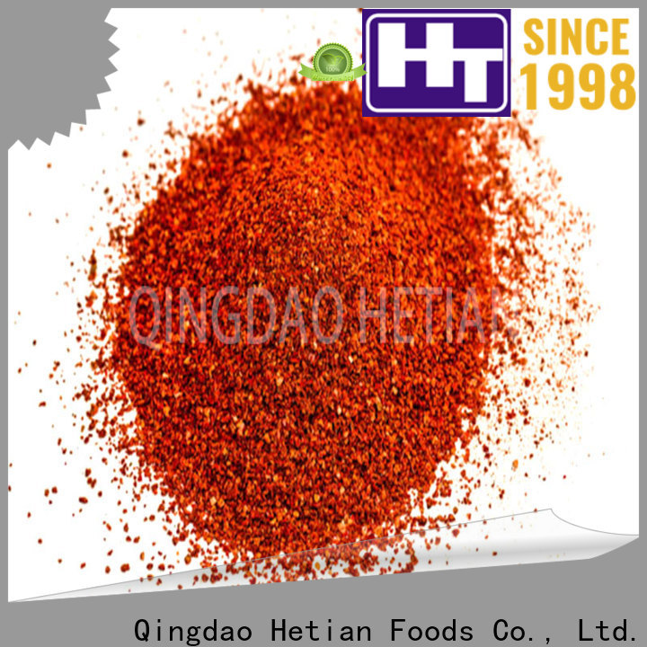 Hetian healthy crushed chili pepper directly sale for hotel