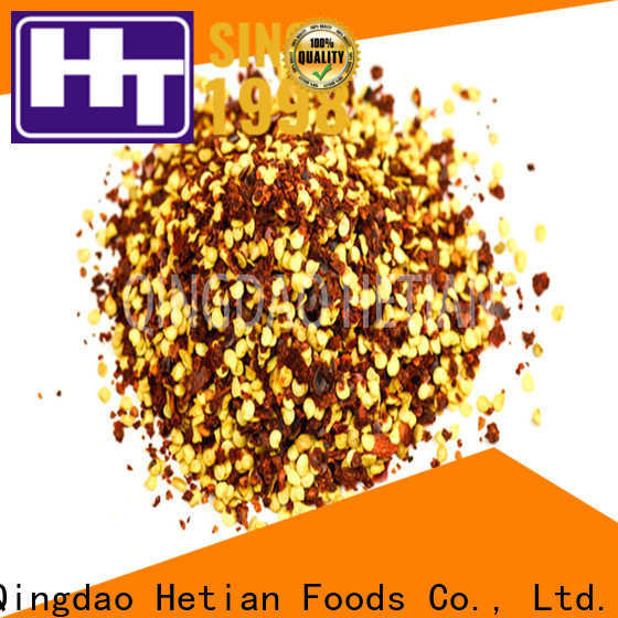 good quality crushed peppers wholesale for hotel