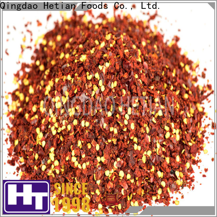 Hetian healthy dried peppers wholesale for cafe shop