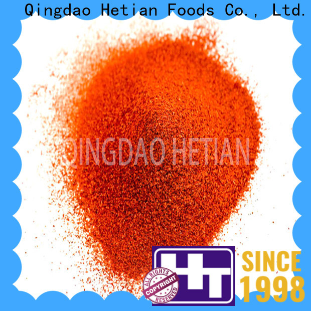Hetian high quality crushed paprika promotion for dining