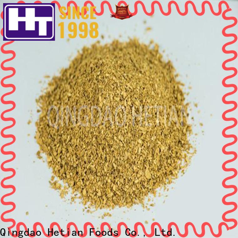 Hetian organic ginger granules manufacturer for restaurant