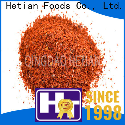 Hetian paprika spices manufacturer for dining
