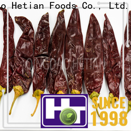 Hetian paprika flakes manufacturer for food