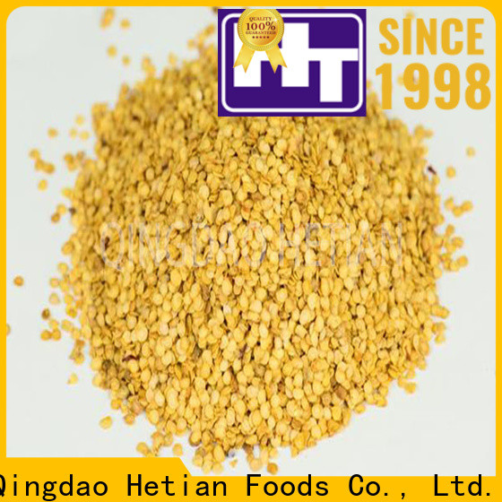 Hetian crushed chili pepper wholesale for cafe shop