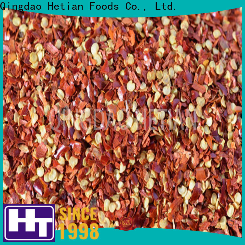 Hetian healthy dried chilli flakes supplier for restaurant