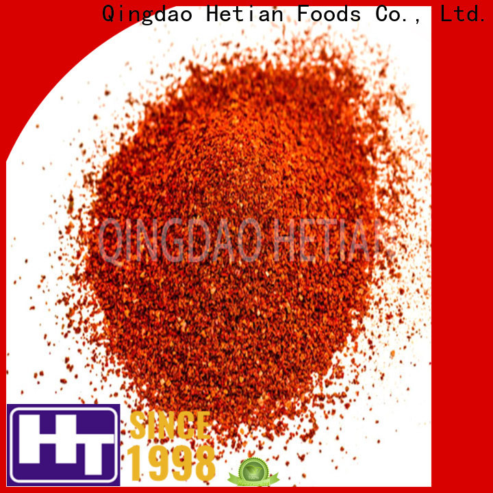 Hetian good quality crushed pepper flakes directly sale for hotel