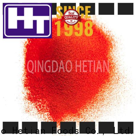 Hetian chili pepper powder wholesale for hotel
