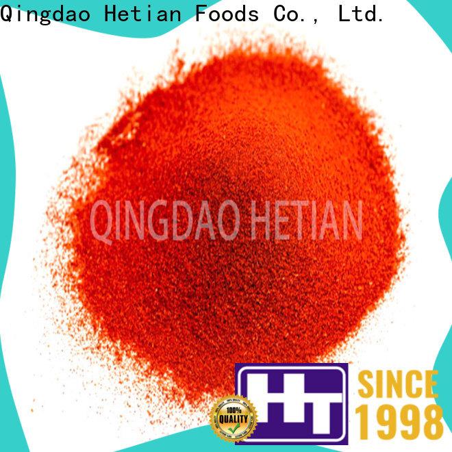 Hetian paprika powder manufacturer for wedding