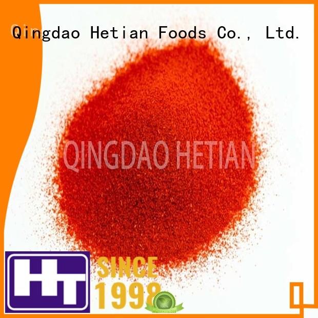 Hetian paprika flakes manufacturer for wedding