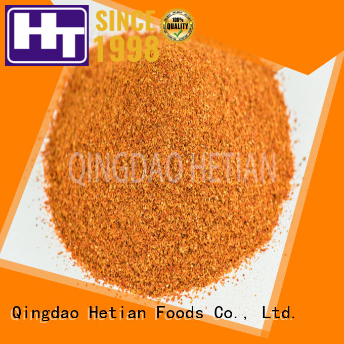 Hetian safe crushed chili flakes directly sale for home