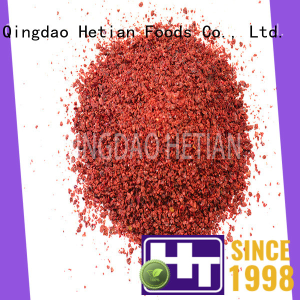 Hetian paprika spices on sale for food