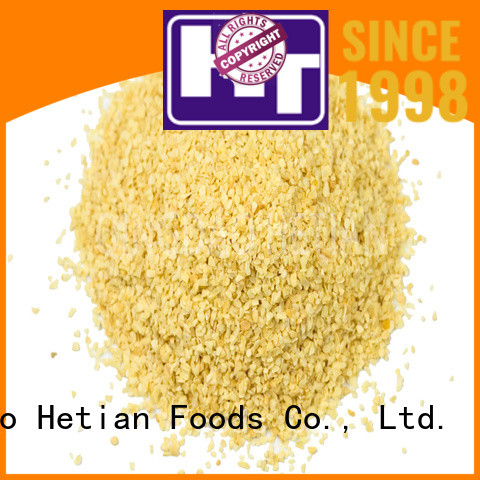 Hetian healthy granulated garlic from China for shop