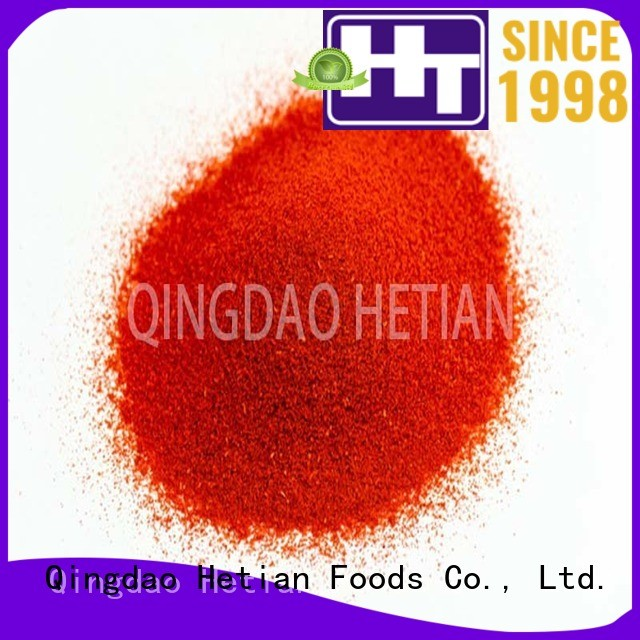 paprika flakes from China for wedding Hetian