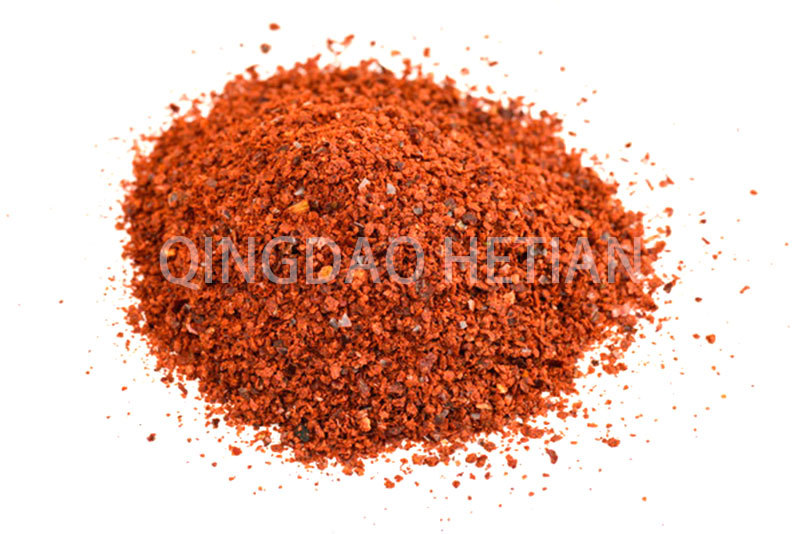 Paprika crushed  without seeds 1-3 mm