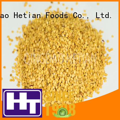 Hetian healthy dried red pepper flakes factory price for hotel
