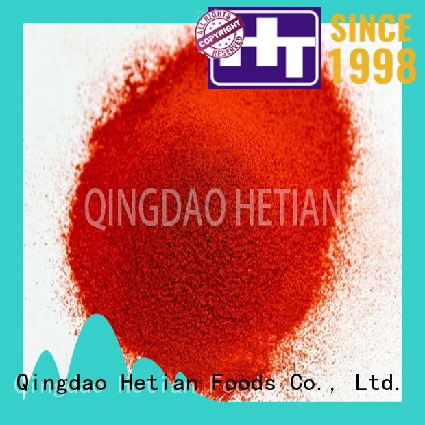 Hetian paprika powder promotion for party