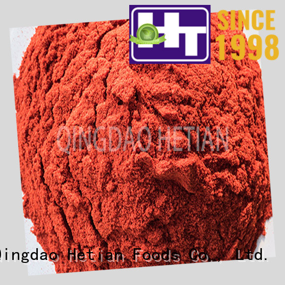 Hetian safe chili pepper flakes supplier for home