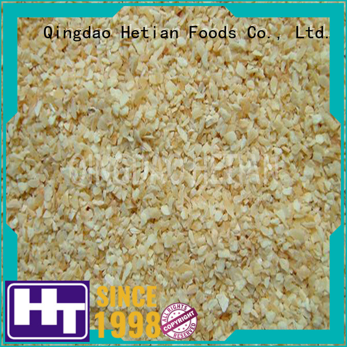 Hetian good quality garlic flakes from China for restaurant