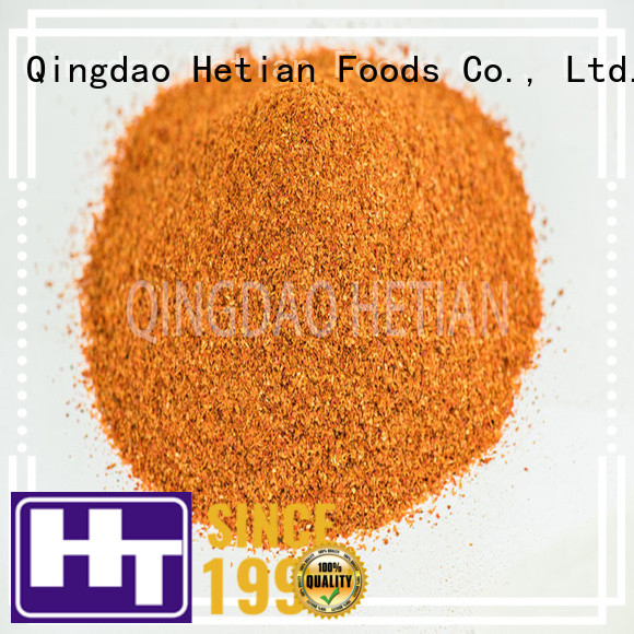 Hetian dried crushed red pepper factory price for hotel