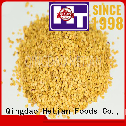 Hetian good quality crushed peppers directly sale for restaurant