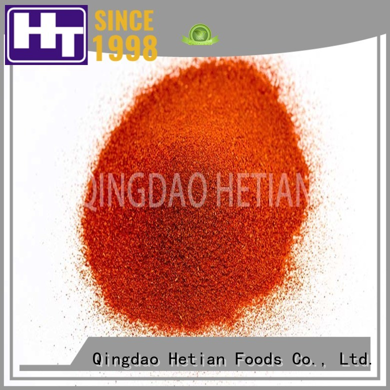 organic paprika spices promotion for wedding